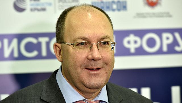 Глава Ростуризма Олег Сафонов на форуме Открытый Крым