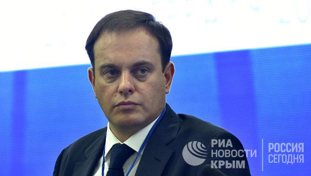 Министр курортов и туризма РК Вадим Волченко на форуме Открытый Крым