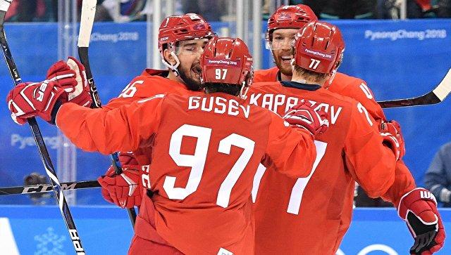 Русские хоккеисты разгромили норвежцев ивышли вполуфинал Олимпийских игр