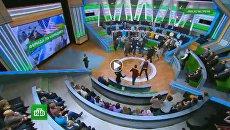 Драка в прямом эфире телеканала НТВ