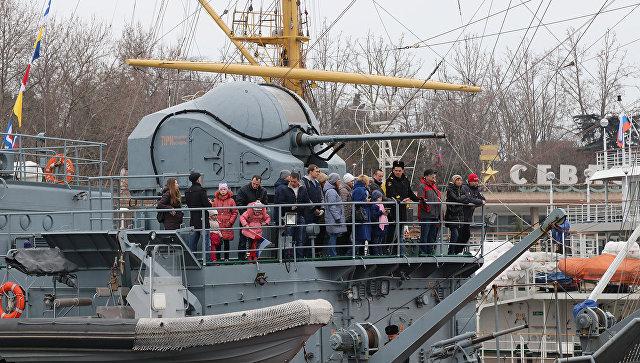 Праздничные мероприятия в Севастополе, посвященные Дню защитника Отечества