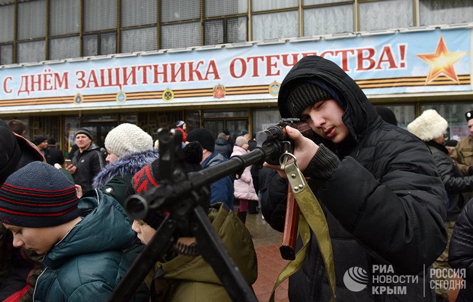Крым встречает четвертую годовщину создания народного ополчения