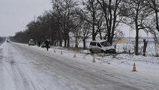 ДТП в Красногвардейском районе Крыма. 25 февраля 2018