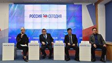 Пресс-конференция на тему: Корейцы в семье народов России