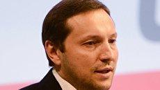 Министр информационной политики Украины Юрий Стець. Архивное фото