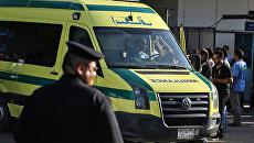 Машина скорой помощи в Египте