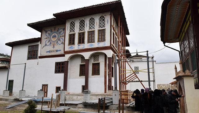 Реставрация Ханского дворца в Бахчисарае