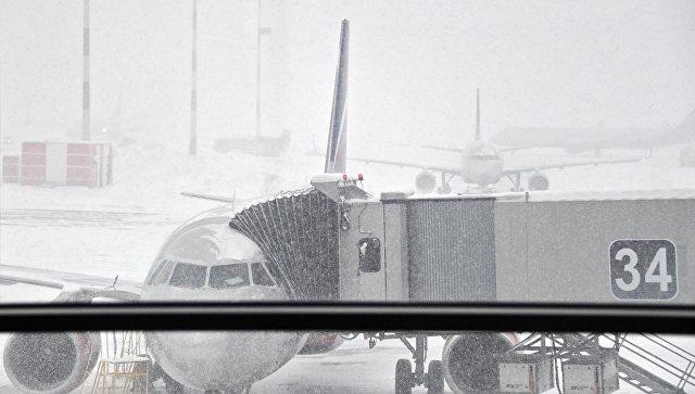 Задержки авиарейсов в московских аэропортах