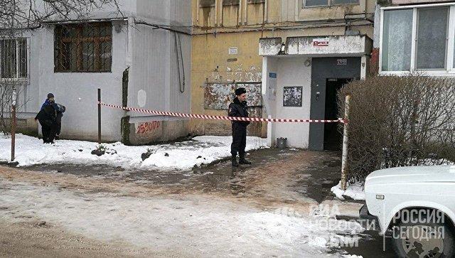 Подъезд дома 81 по улице Балаклавская Симферополь