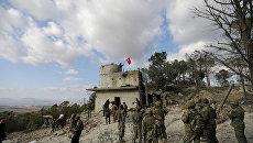Турецкие военнослужащие в районе Африна