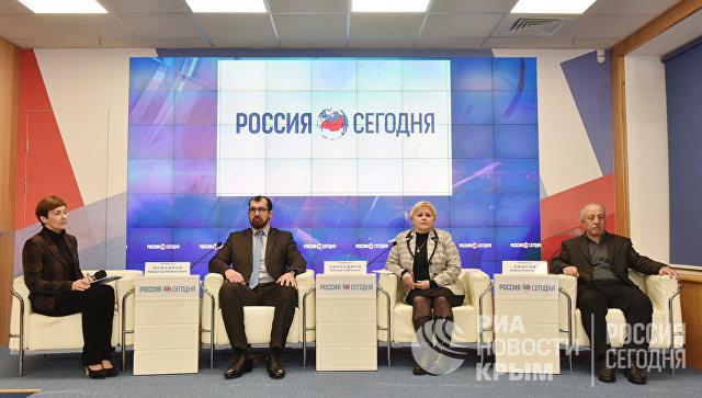 Пресс-конференция на тему: Совет крымско-татарского народа: задачи и планы