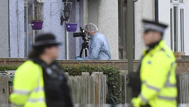 Сотрудники правоохранительных органов в Великобритании