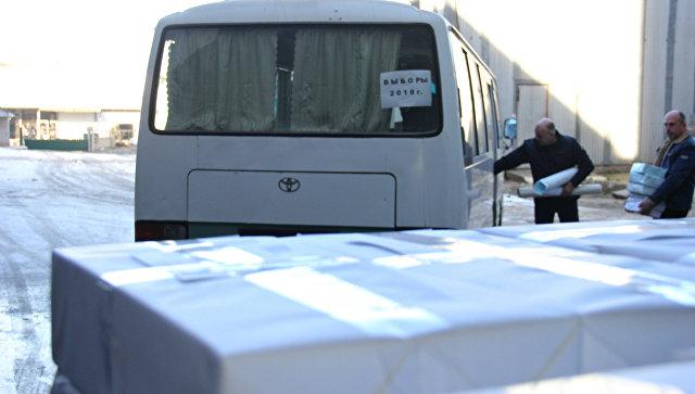 Типография в Симферополе закончила печать бюллетеней и передала их крымскому центризбиркому