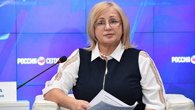 Руководитель Управления Федеральной службы государственной статистики по Республике Крым и Севастополю Ольга Балдина