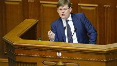 Павел Розенко на заседании Верховной рады Украины