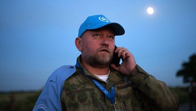 Руководитель Центра обмена пленными (Офицерский корпус) Владимир Рубан