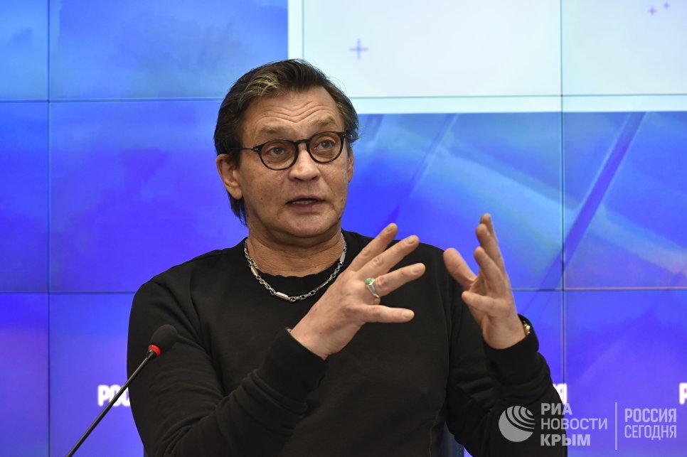Актер театра и кино, народный артист Российской Федерации Александр Домогаров