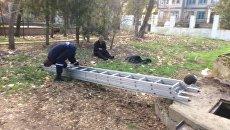 Спасатели оказали помощь мужчине, который упал в колодец в селе Красный Мак Бахчисарайского района