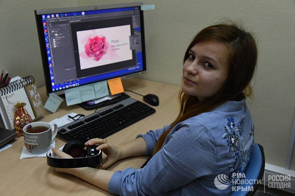 Бильд-редактор сайта РИА Новости Крым Юлия Галицына