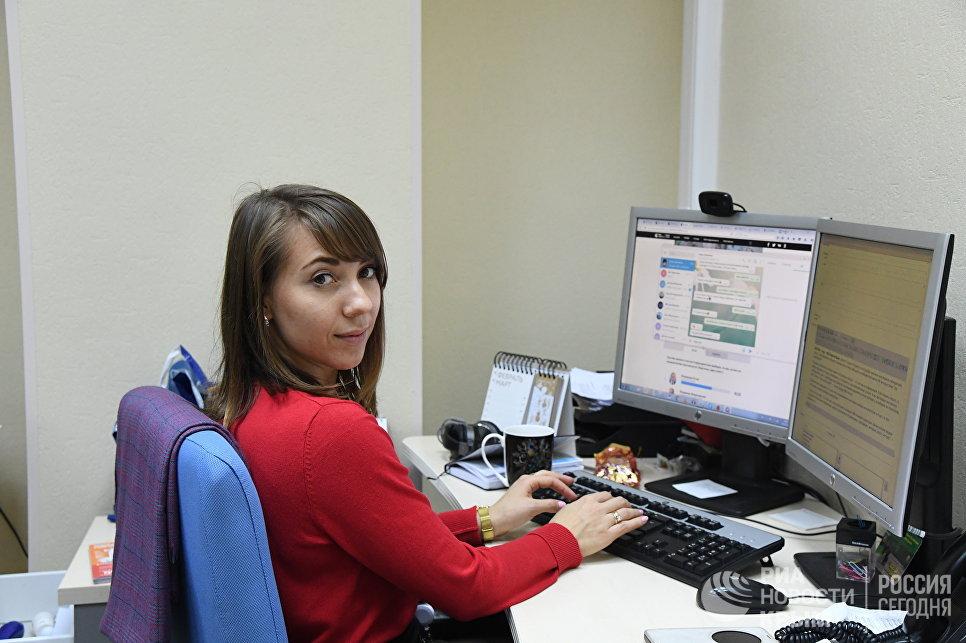 Выпускающий редактор сайта РИА Новости Крым Яна Гасс