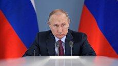 Рабочая поездка президента РФ В. Путина в Самарскую область