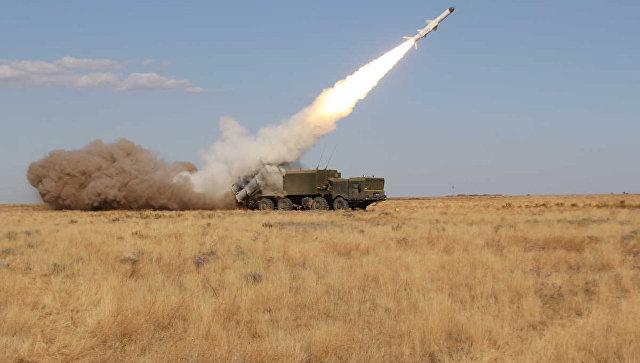На полигоне Черноморского флота начался полевой выход ракетно-артиллерийского соединения