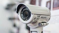 Камера видеонаблюдения. Архивное фото