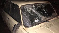 Машина, сбившая подростков в селе Джанкойского района