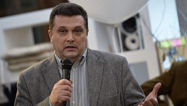 Глава Союза журналистов России Владимир Соловьев