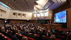 Торжественное собрание по случаю четвертой годовщины воссоединения Крыма с Россией
