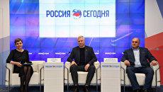 Пресс-конференция на тему: Премьера симфонической фантазии Крым из Испании