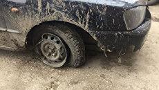 Угнанный в Керчи автомобиль Hyundai Accent