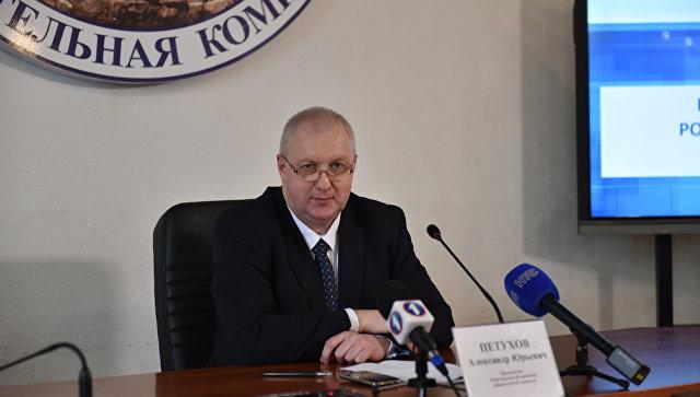Глава севастопольской избирательной комиссии Александр Петухов