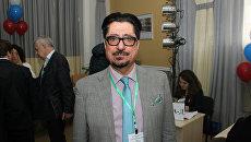 Международный наблюдатель из Афганистана Эхлас Тамим  Мохаммад, приехавший в Крым на выборы президента России