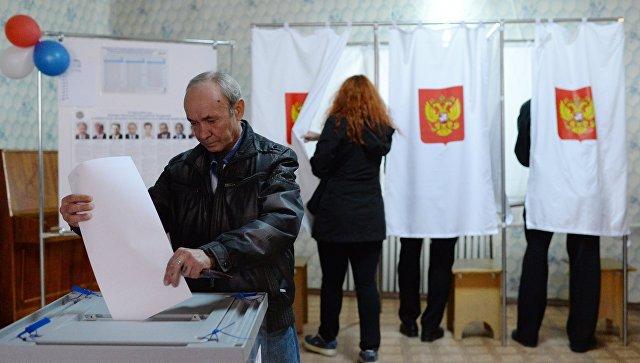 Выборы президента РФ в Крыму