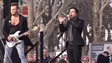 Родион Газманов на концерте в Симферополе. 18 марта 2018
