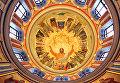 Главный купол Александро-Невского кафедрального собора в Симферополе
