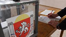 Голосование по отбору общественных территорий в Симферополе, подлежащих благоустройству