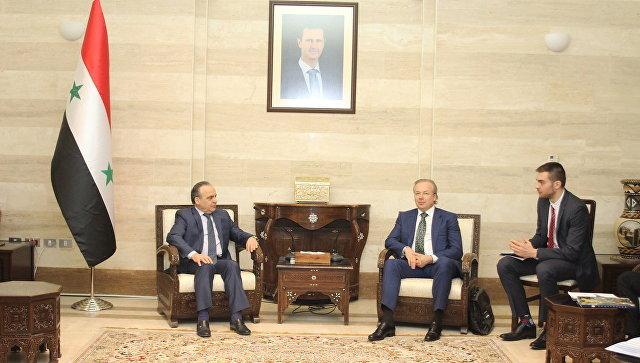 Члены руководства Сирии приедут вКрым наэкономический форум