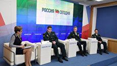 Пресс-конференция начальника Крымской таможни Владимира Авраменко