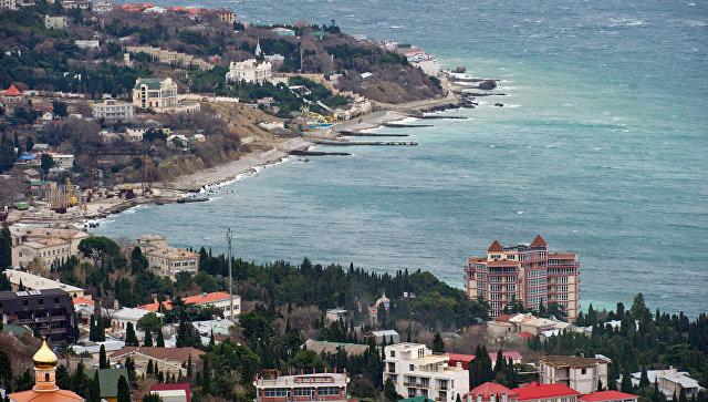 Побережье Симеиза в Крыму. Архивное фото