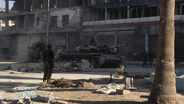 Обстреляy автобус сроссийскими корреспондентами: вСирии ранили 3-х человек