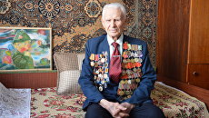 Ветеран Великой Отечественной и участник освобождения Крыма Иван Иванович Робак