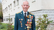 Ветеран военной контрразведки СМЕРШ Владимир Кармалинов