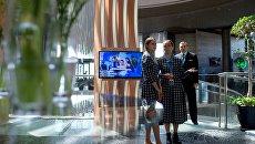 Участники Ялтинского международного экономического форума в Крыму