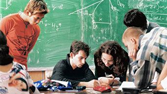 Студенты готовятся к экзаменам