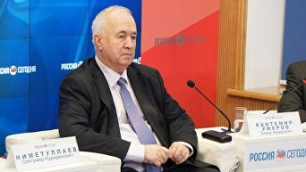 Председатель РОО «Къырым бирлиги» и Общественного Совета крымско-татарского народа Сейтумер НИМЕТУЛЛАЕВ