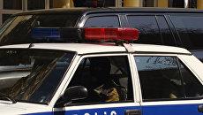 Автомобиль полиции.