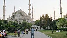 Мечеть Султана Ахмета в Стамбуле. Архив
