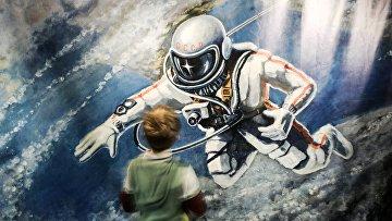 Мероприятия, посвященные 50-летию выхода первого человека в открытый космос
